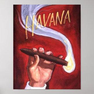 Havana Cigar Poster