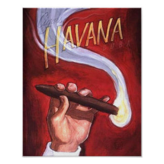 Havana Cigar Posters