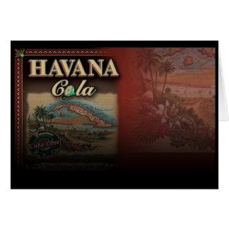 Havana Cola Card