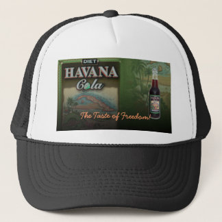 HAVANA COLA DIET THE TASTE OF FREEDOM! HAT