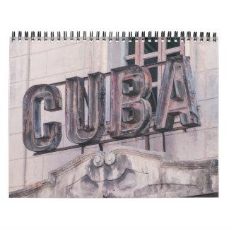 Havana, Cuba 2017 Calendar