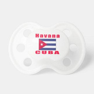 Havana Cuba capital designs Pacifier