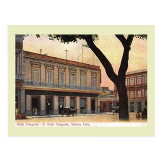 Havana, Cuba, Hotel Telegrafo, 1911 Vintage Postcard
