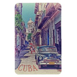 Havana Cuba Rectangular Photo Magnet