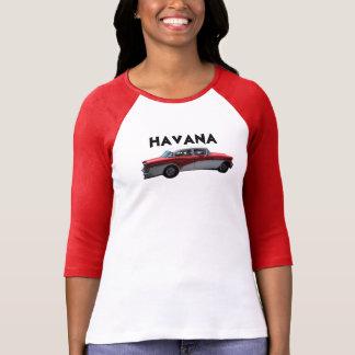 Havana Cuba Red Car T-Shirt