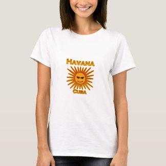 Havana Cuba Sun Logo T-Shirt