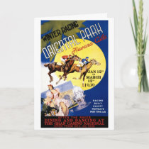 Havana Horse Racing Vintage Travel Poster