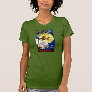 Havana Horse Racing Vintage Travel Poster T-Shirt