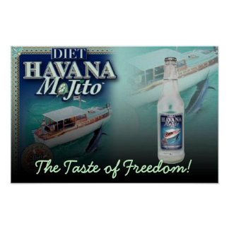 HAVANA MOJITO Diet The Taste of Freedom! Print