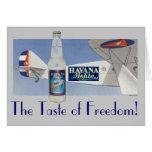 HAVANA MOJITO The Taste of Freedom! Card