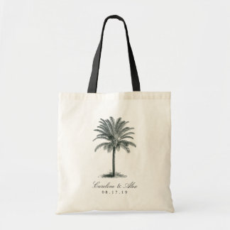 Havana Palm Wedding Favor Tote Bag