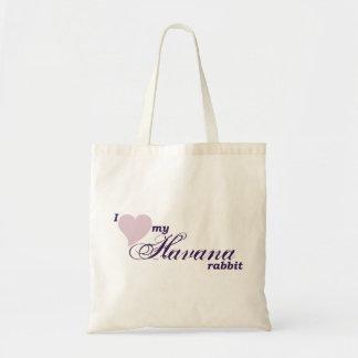 Havana rabbit tote bag