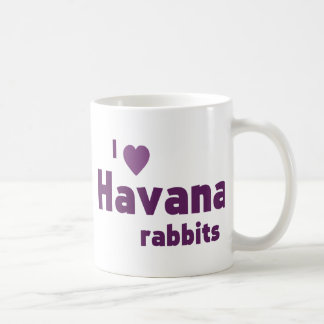 Havana rabbits coffee mug