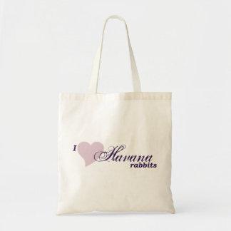 Havana rabbits tote bag