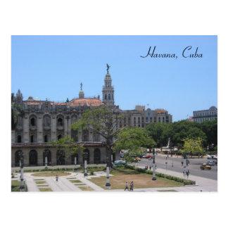 havana square postcard