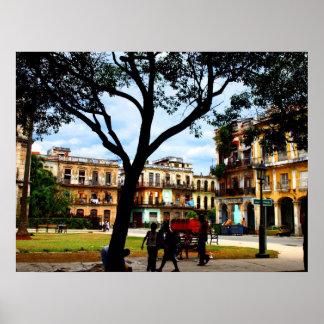 Havana Square Posters