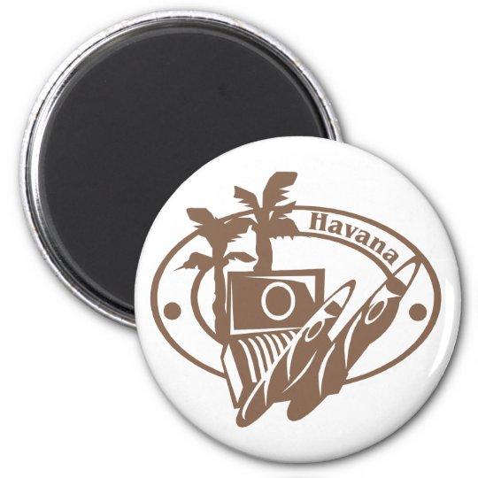 Havana Stamp Magnet