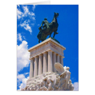 havana statue card