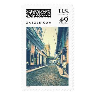 Havana Street Cuba 1899 Postage