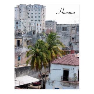 havana vieja postcard