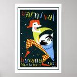 Havana Vintage Travel Print