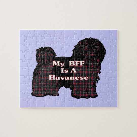 HAVANESE BFF JIGSAW PUZZLE