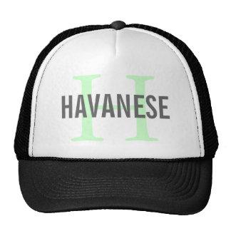 Havanese Breed Monogram Design Trucker Hat