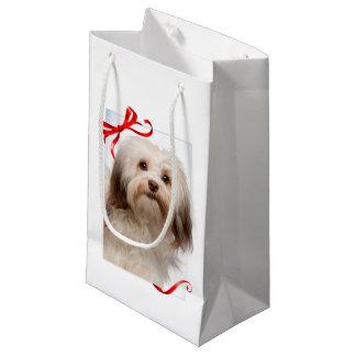 Havanese Christmas Gift Bag