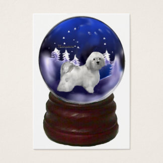 Havanese Christmas Gifts Business Card