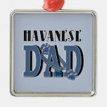 Havanese DAD Christmas Ornament