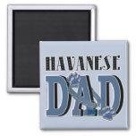 Havanese DAD Fridge Magnet