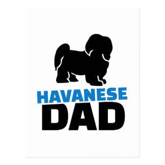 Havanese Dad Postcard