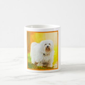 Havanese Dog Bichon Portrait Coffee Mug