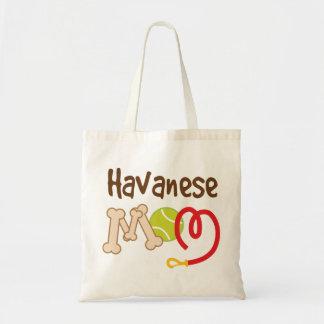 Havanese Dog Breed Mom Gift Tote Bag