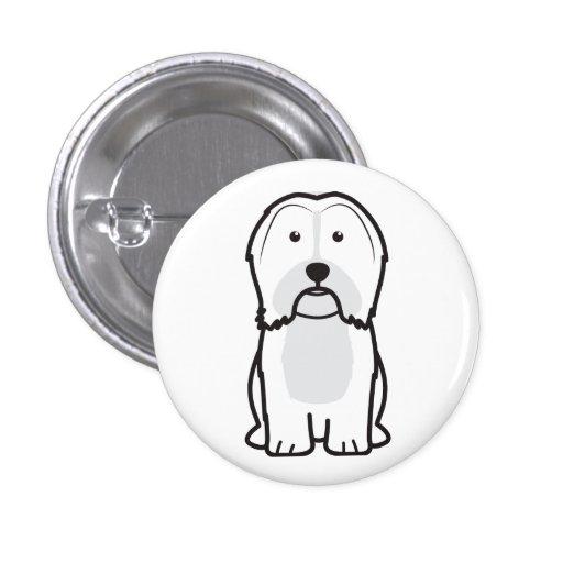Havanese Dog Cartoon Pin