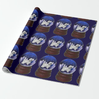 Havanese Dog Christmas Wrapping Paper