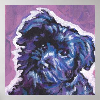 Havanese Dog fun pop art Poster