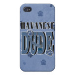 Havanese DUDE Cover For iPhone 4
