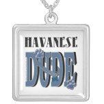 Havanese DUDE Pendant
