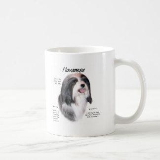 Havanese History Design Coffee Mug