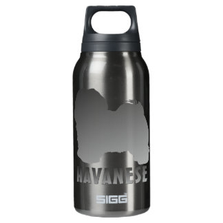 Havanese Insulated Water Bottle