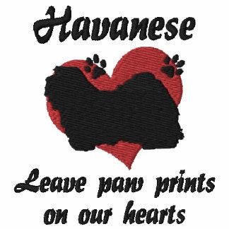 Havanese Leave Paw Prints