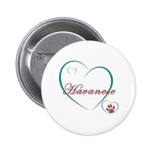 Havanese Love Button