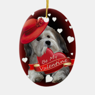 Havanese Love Christmas Tree Ornament