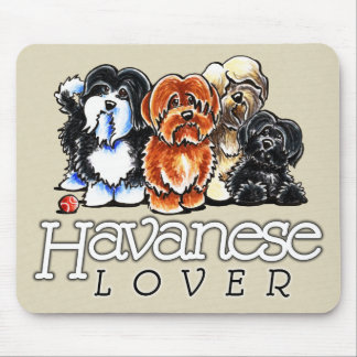 Havanese Lover Mouse Pads