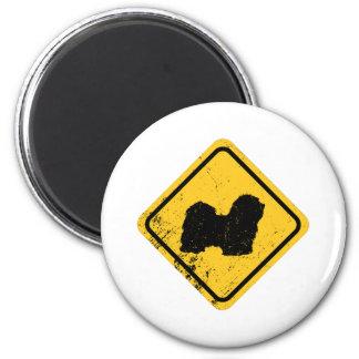 Havanese 2 Inch Round Magnet