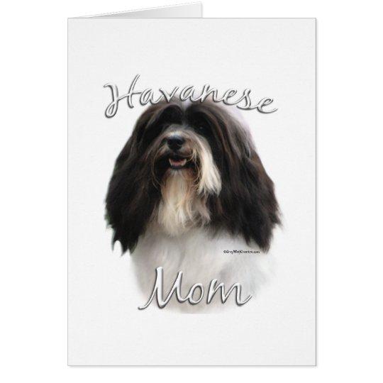 Havanese Mom 2 Card