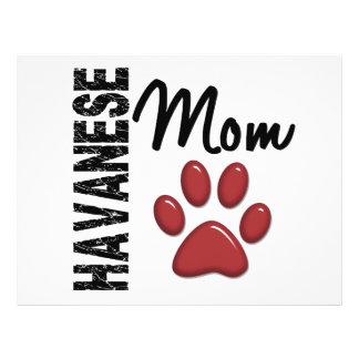 Havanese Mom 2 Personalized Flyer