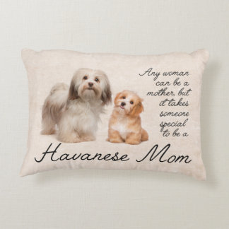 Havanese Mom Accent Pillow