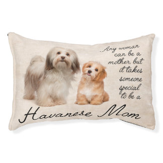 Havanese Mom Dog Bed